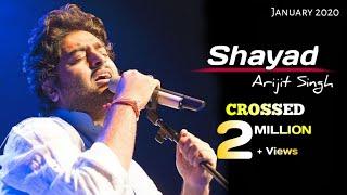 Arijit Singh: Shayad (Lyrics) | Pritam | Kartik Aaryan, Sara Ali Khan | Love Aaj Kal