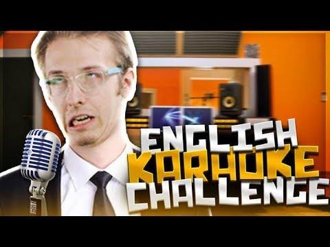 ENGLISH KARAOKE CHALLENGE!