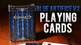 Deck Review - Artifice Blue V2 Limted Edition Playing Cards