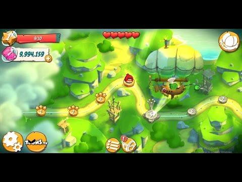 ANGRY BIRDS 2 ANDROID CHEAT GEMS 2016
