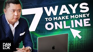 Want to know 7 legit ways make money online? knowing how online is simple and dan will show you exactly in his brand-new masterclass: ht...