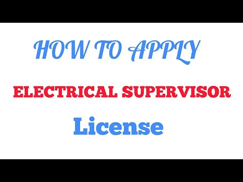 electrical supervisor license rh youtube com Worst Wiring India Home Electrical Wiring Diagrams