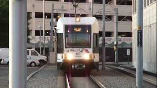 NJT HBLR Kinkisharyo LRV #2052 to West Side Avenue arriving into Harsimus Cove