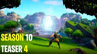 "*NEW* FORTNITE Season 10 TEASER 4 ""Season 10 TRAILER!"" - Explained Secrets!"