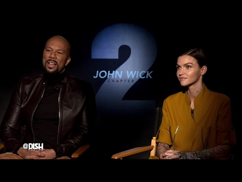 WE'RE HAVING 2 MUCH FUN WITH CAST OF 'JOHN WICK: CHAPTER 2'