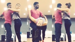 Hansika Dance Rehearsal - Exclusive Footage