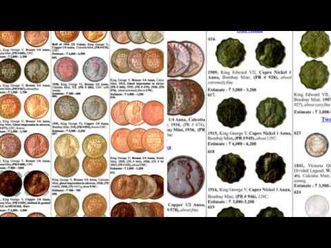Rare Coin Auction By Marudhar Arts, Bangalore