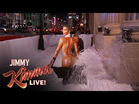 Kim Kardashian Model Snowblower - Here in L.A. we don't have snow, but we do have celebrities so we created the Kim Kardashian model snowblower.