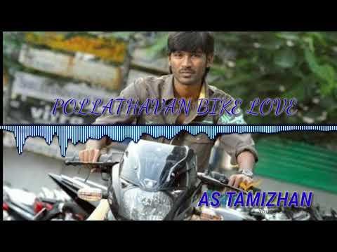 Pollathavan   dhanush   best bike love status   bgm   theme music