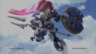 Bandai SpruKits LBX TV Commercial