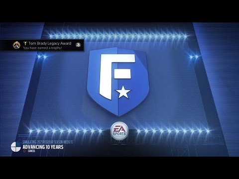 Madden NFL 17 ~ Tom Brady Legacy Award Trophy Guide