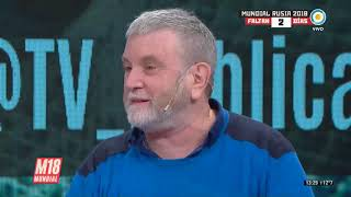 #UnaCanciónParaLaSelección Ricky Pashkus en #MaratónMundial
