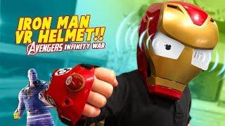 Avengers Infinity War Super Hero Gear Test: Iron Man VR Helmet!