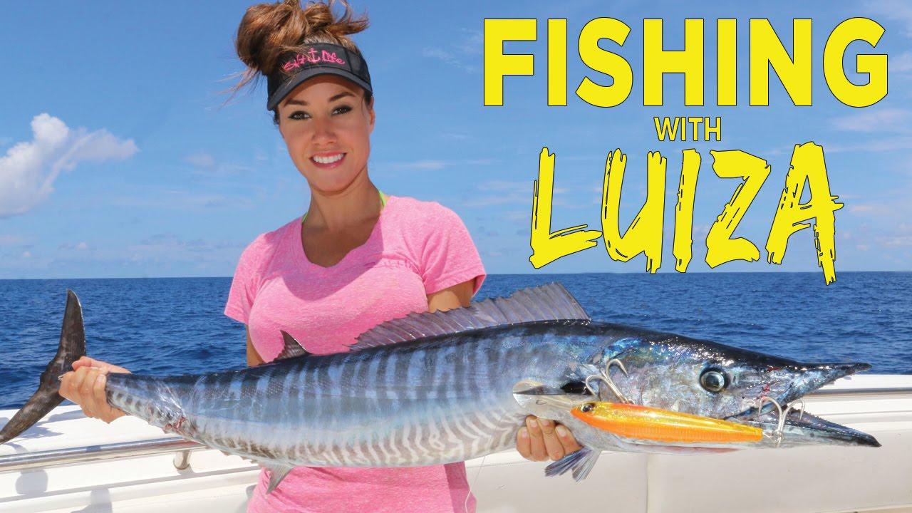Best louisiana tuna fishing fishing with luiza youtube for Fishing with luiza