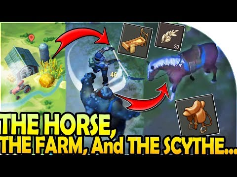 THE HORSE, THE FARM, and THE SCYTHE... (+ C4 RAID!) - Last Day On Earth Survival Update 1.9.3
