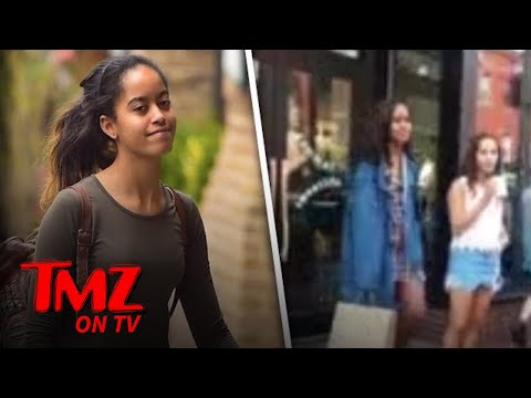 Malia Obama: I'm Not A Caged Animal! | TMZ TV