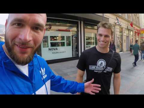 Sarajevo, Bosnia Brazilian Jiu-Jitsu VLOg Feat. Clark Gracie & Adem Redzovic