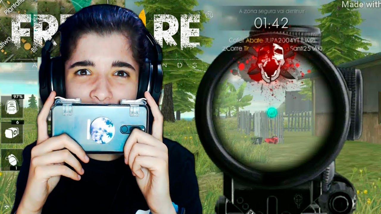Juego Free Fire Battlegrounds Por Primera Vez Y Youtube