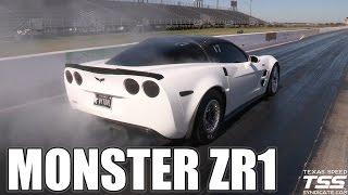 monster 9 second zr1 corvette