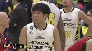 富山グラウジーズvsサンロッカーズ渋谷|B.LEAGUE第18節 GAME1Highlights|01.05.2019 プロバスケ (Bリーグ)
