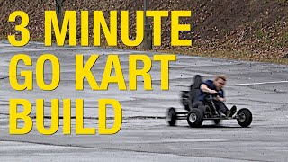 How to Build a Go Kart in 3 Minutes (Not Really) - Eastwood
