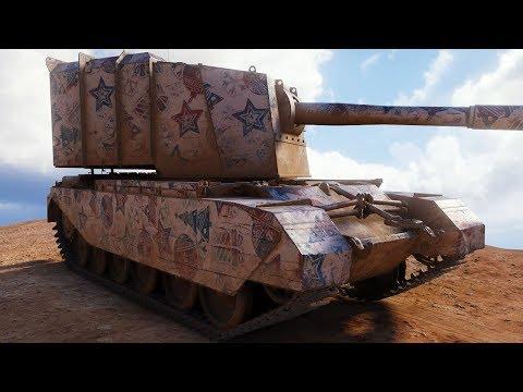 FV4005 Stage II - ALWAYS IN AMBUSH - World Of Tanks Gameplay