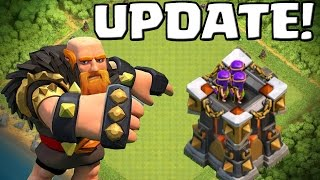 CLASH OF CLANS UPDATE! || RIESE LEVEL 8 - BOGITURM LEVEL 14! || Let's Play CoC