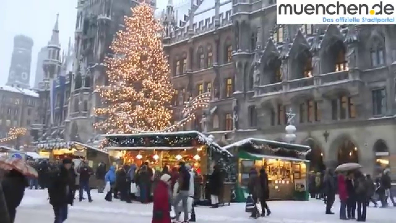 Munich Christmas Market.A Look Inside Munich Christmas Market