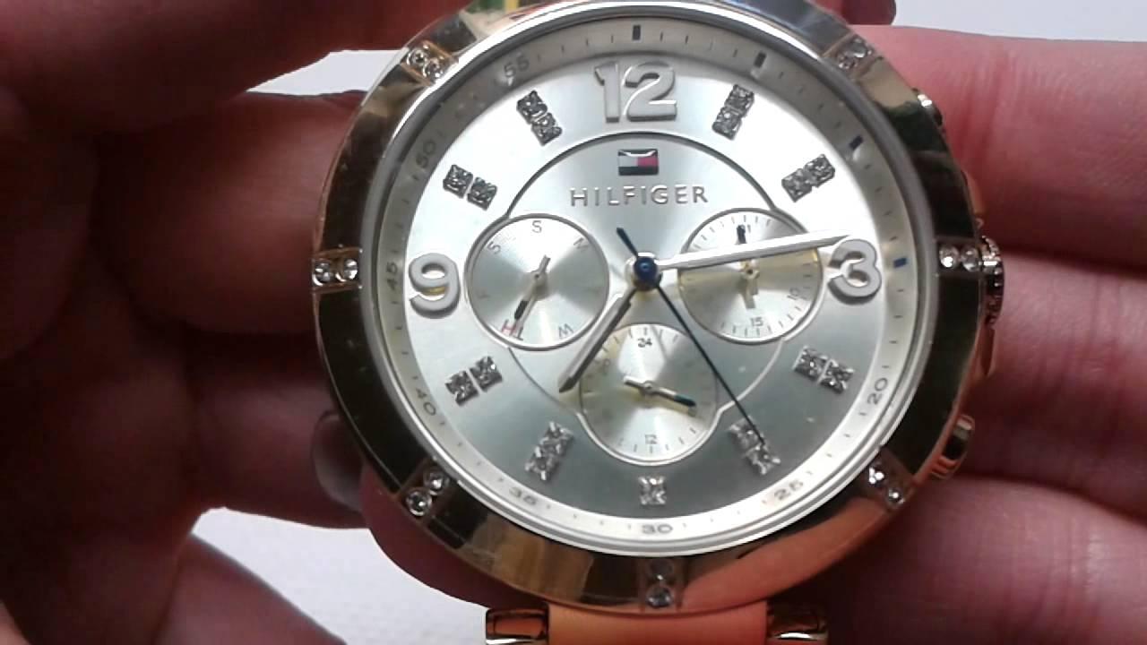 dámské hodinky TOMMY HILFIGER 1781534 - YouTube 74af182d093
