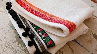 Tee itse tuunatut pyyhkeet