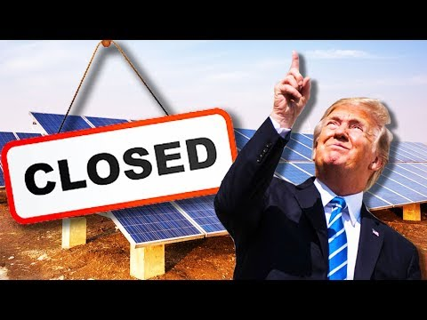 Did Trump Just Kill Solar?