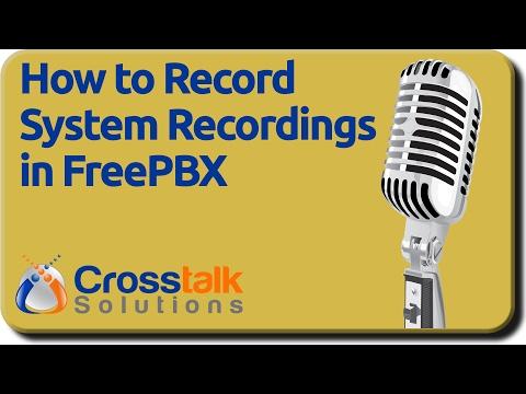 FreePBX System Recordings