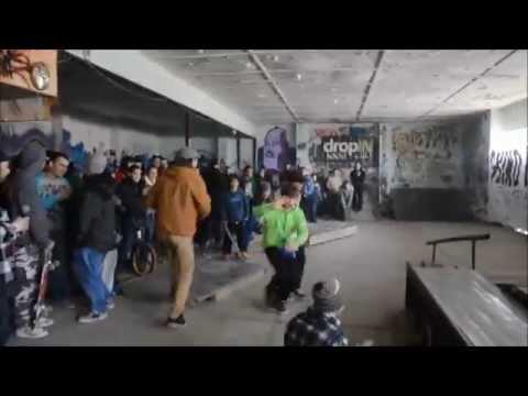 Macedonia DIY Indoor sk8 Park
