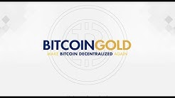What is the purpose of Bitcoin Gold? ~ Will Bitcoin Gold challenge BTC/BCH? ~ Market Update