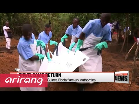 Fifth person dies in Guinea Ebola flare-up: authorities