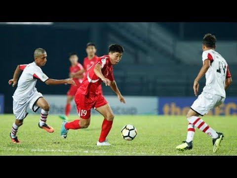 اليمن 0-1 كوريا الشمالية | كأس آسيا للناشئين 2018 الجولة الثانية