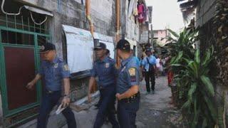 La policía filipina reanuda las polémicas redadas antidroga