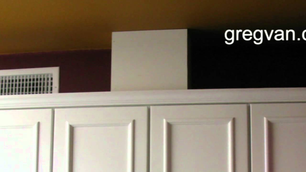 range hood vent and outlet kitchen cabinet tips