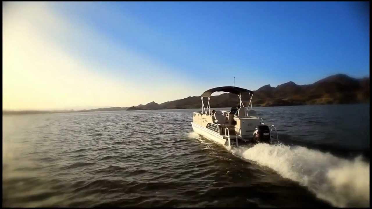 Avalon Pontoon Boats Secret Spot Lake Havasu Youtube | CLOUDY GIRL ...