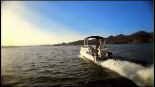 Avalon Pontoon Boats- Secret Spot: Lake Havasu