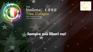 "[1990] Toto Cutugno - ""Insieme 1992"" (Italy)"