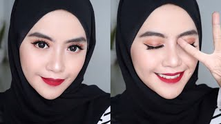 Bold Red Lips Makeup Tutorial - Shafira Eden