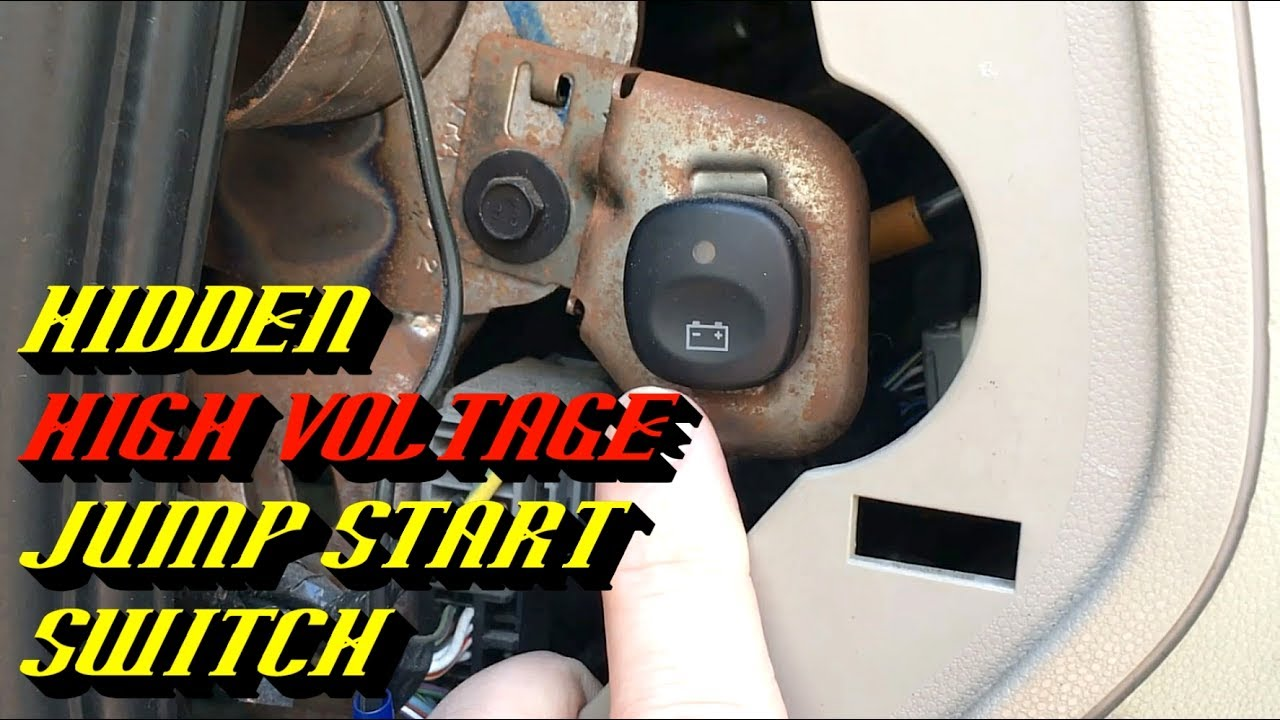 small resolution of 2005 2008 ford escape hybrid no crank no start high voltage pack jump start procedure