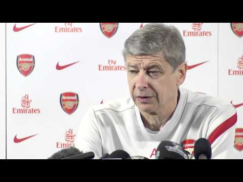 Arsene Wenger Press Conference - Arsenal Vs Liverpool