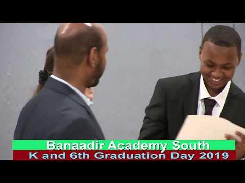 Banaadir Academy South K & 6th Grade Graduation Day