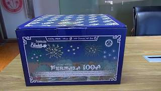 "100sh 30mm Cakebox Assortment - ""Fermata 100-A"" [Batch 2018]"