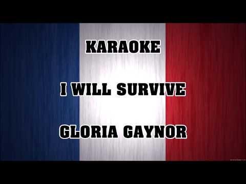 I Will Survive Gloria Gaynor Karaoke Youtube