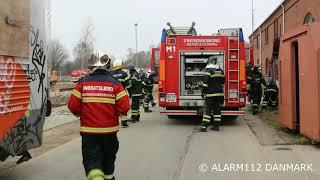 Øvelse med Frederiksborg Brand og Redning