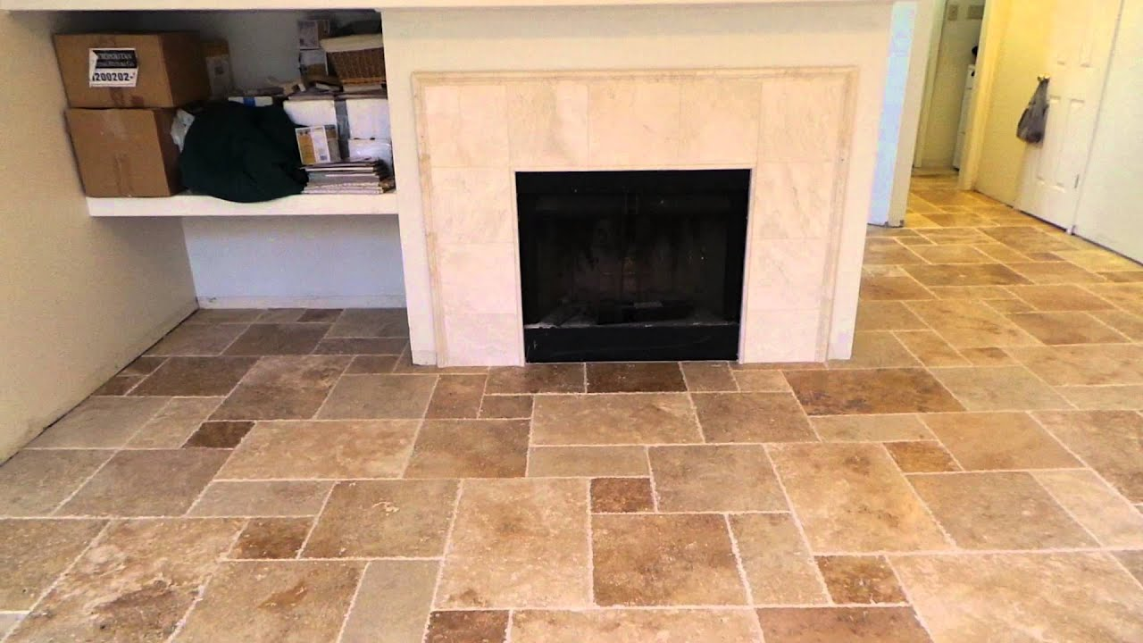 Versailles Pattern Installation Houston Tile Works Youtube