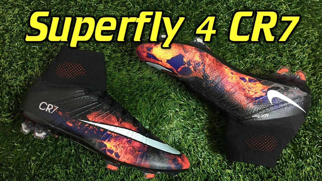 reputable site 11cc7 3e7f5 CR7 Nike Mercurial Superfly 4 Savage Beauty - Review + On Feet - YouTube
